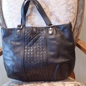 Cole Haan leather tote
